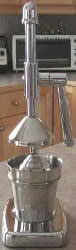 stainless manual juicer